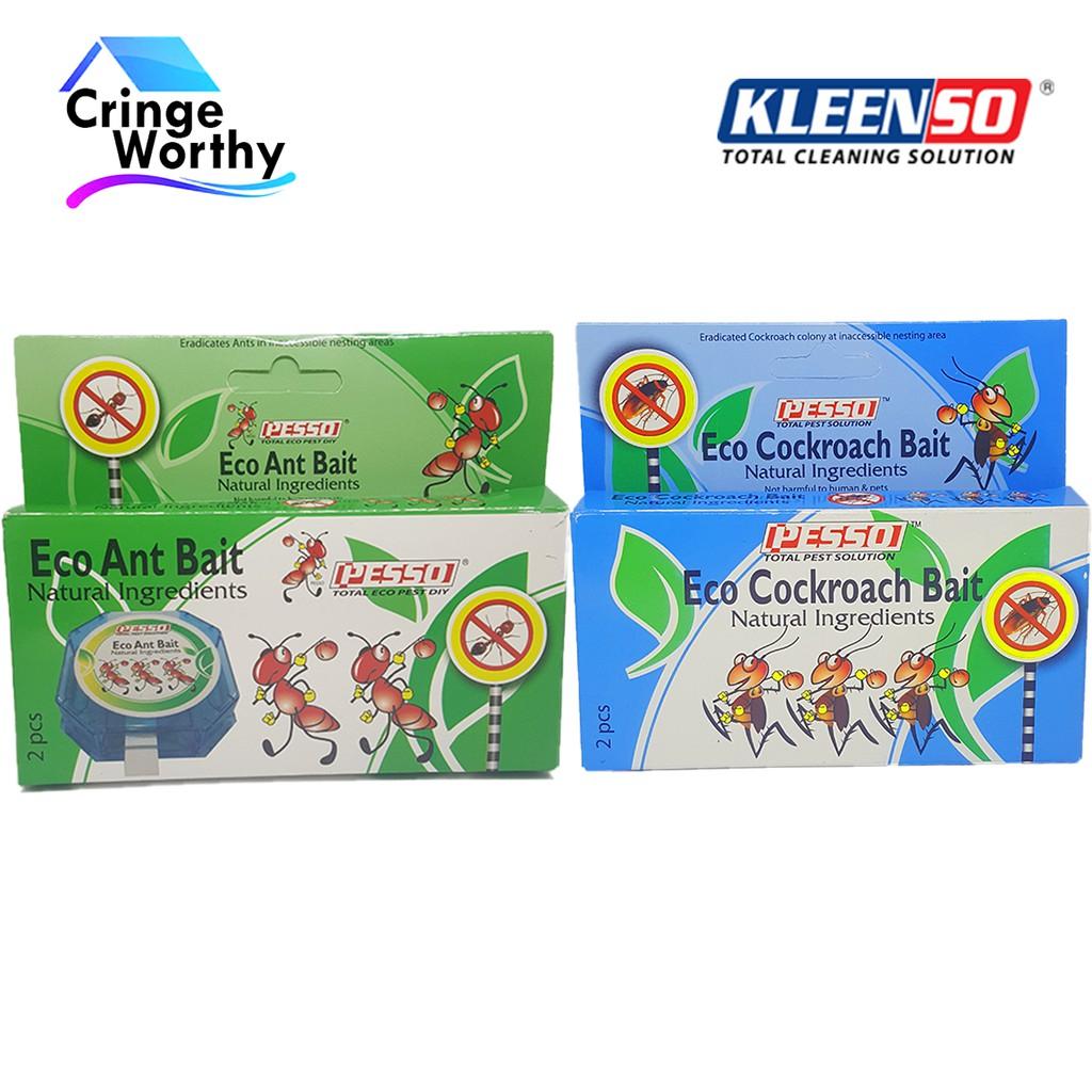 Kleenso Pesso Eco Ant Bait 2pcs Kleenso Pesso Eco Cockroach Bait 2pcs Shopee Malaysia