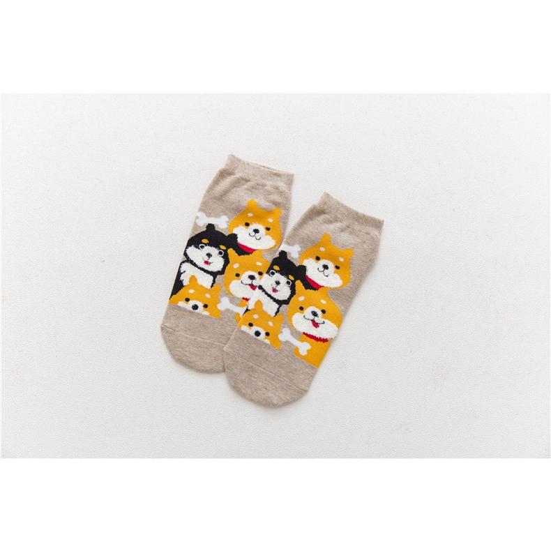 COPAUL Puffin Birds Pattern Unisex Novelty Crew Socks Ankle Dress Socks