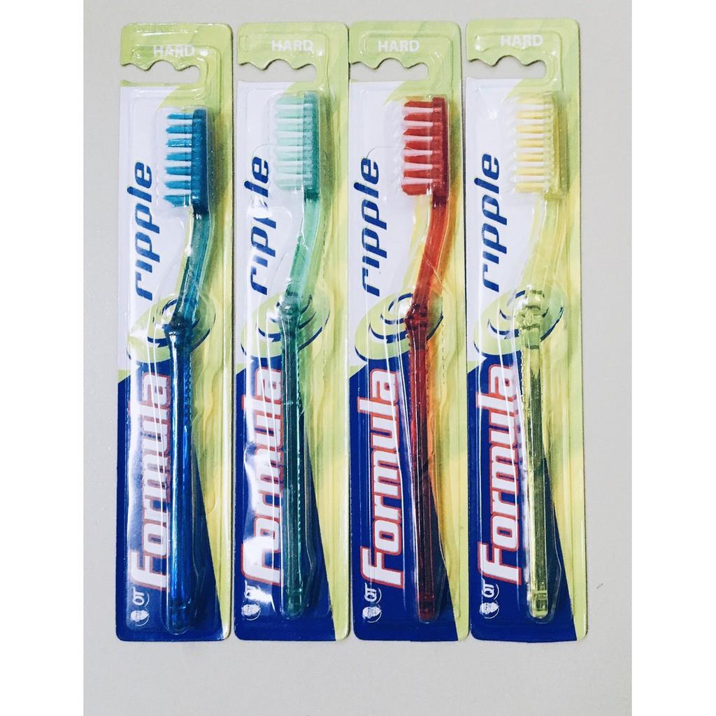 Formula Ripple Toothbrush Multi-Care Anti-Bacterial Toothbrush