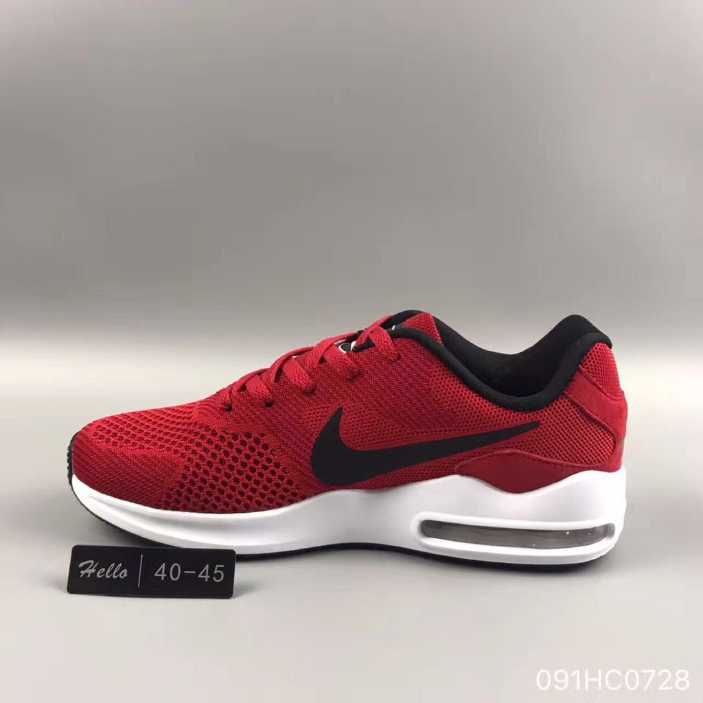 Original NIKE AIR MAX TAVAS Mens Shoes Sports Shoes Fashion Shoes Red Black