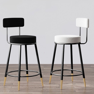 Bar Stools Modern Minimalist Living Room Wall Wood Bar Tables and Chairs Leisure Chairs Home Tall Bar Chairs