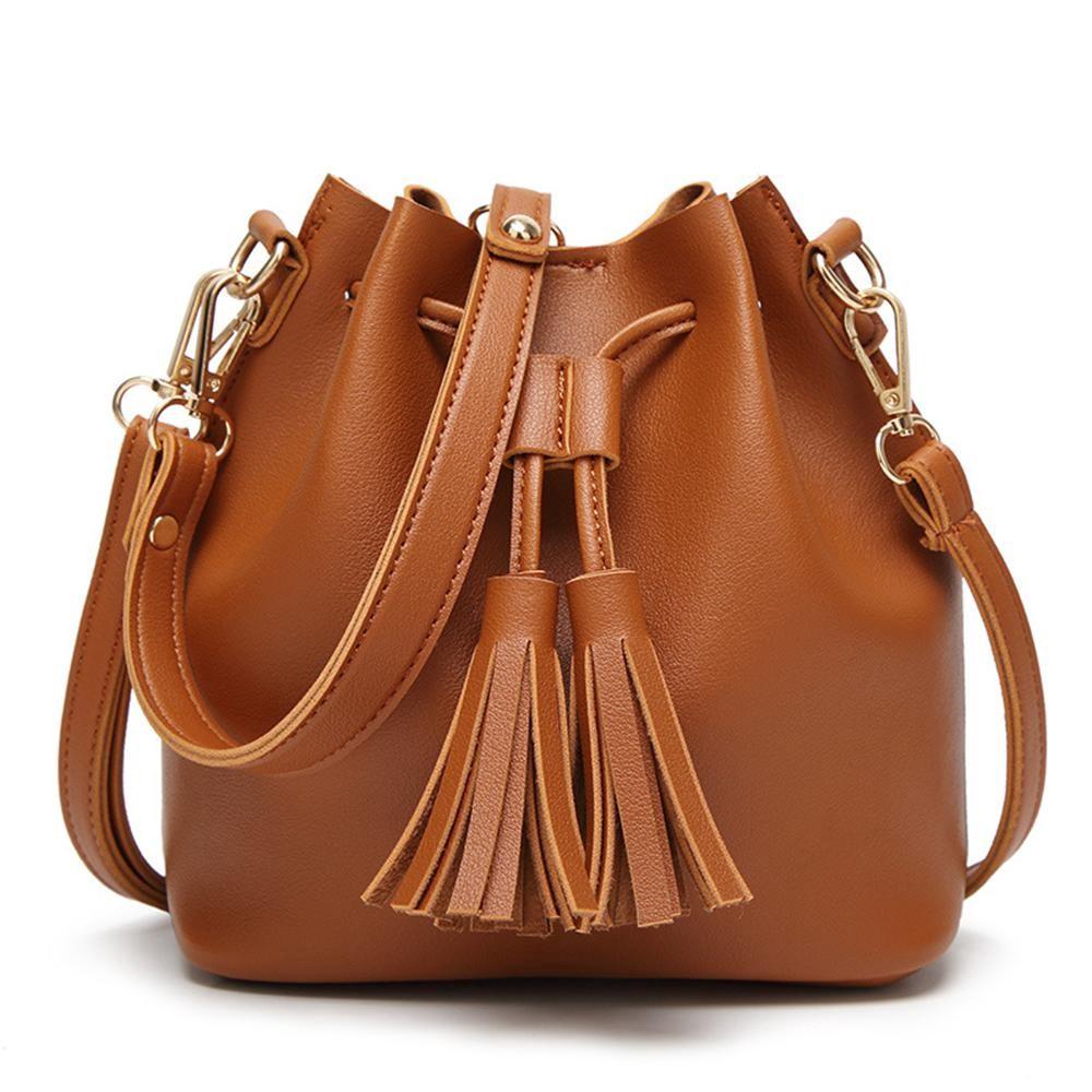 4bfc0ff3bf29 Women's fashion backpack, shoulder portable Messenger bag, simple wild  handbag