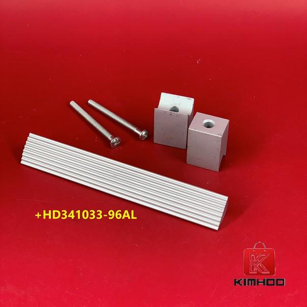 KIMHOO High Quality Aluminum Furniture Cabinet Handle +HD341033-96AL:
