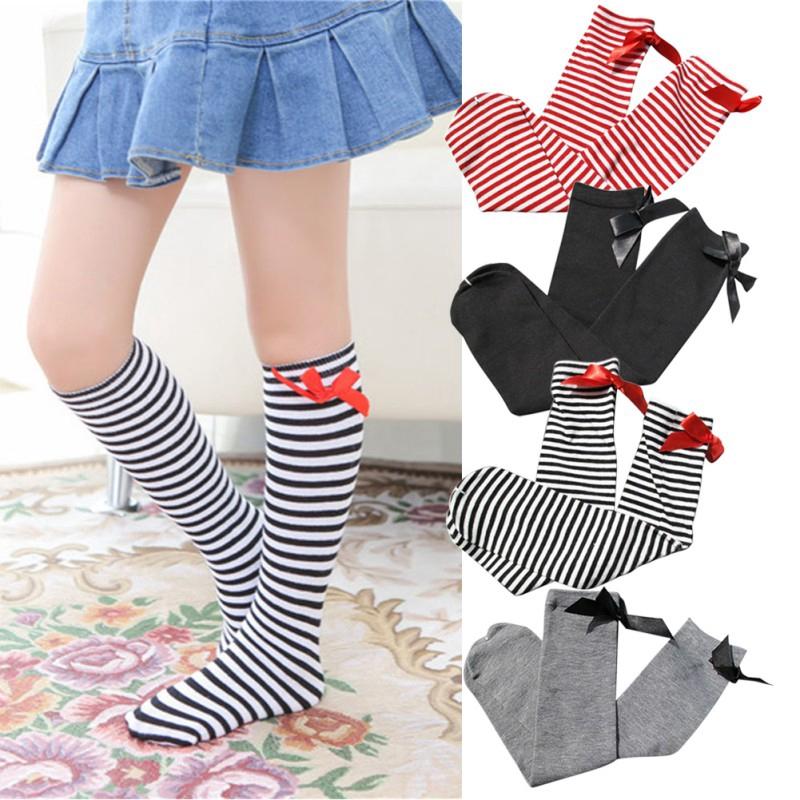 Butterfly Iron Baby Boys Girls Knee High Socks Toddler Newborns Cotton Leg Warmers