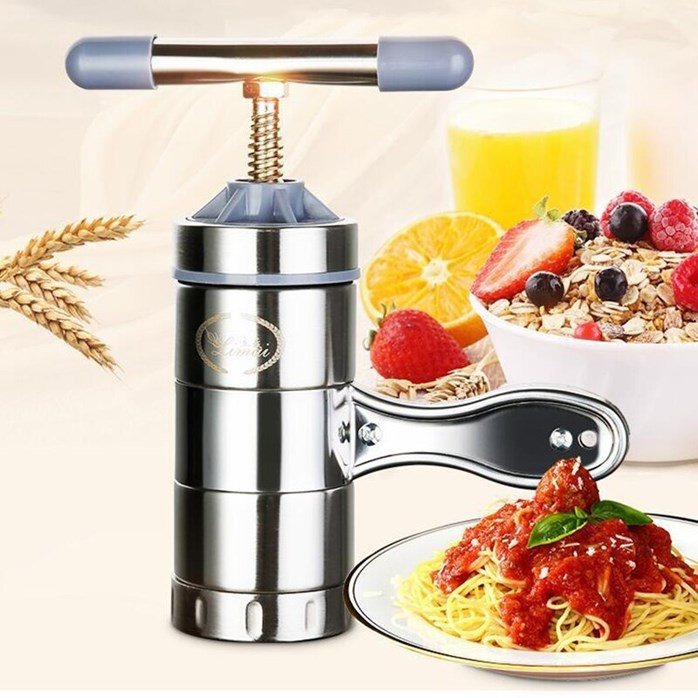 STAINLESS STEEL HAND PRESSURE NOODLE MACHINE