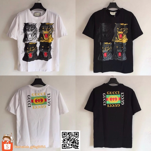 faa00056 2018 Spring Summer gucci Unskilled Worker T-Shirt Short Sleeve Tee | Shopee  Malaysia