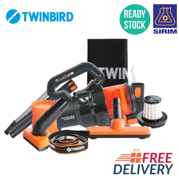 [1 YEAR WARRANTY MALAYSIA]TWINBIRD Ssenstorm TB-Q251 Power Handheld Vacuum Cleaner
