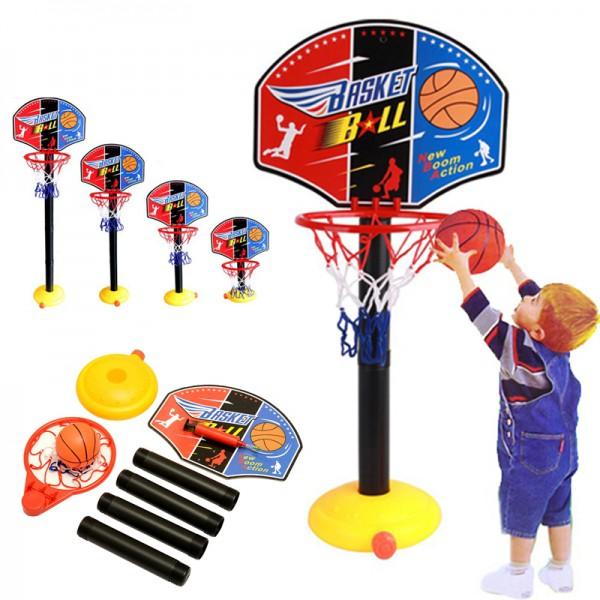 ADJUSTABLE BASKETBALL STAND GAME SET