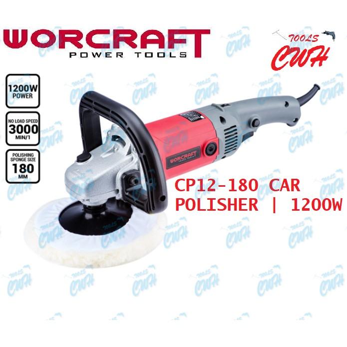 CP12-180 WORCRAFT CAR POLISHER 1200W 180MM 7INCHES WAXER POLISHING WAXING