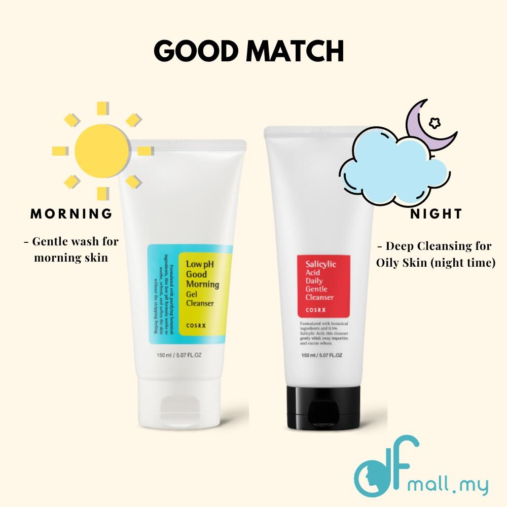 Kết quả hình ảnh cho cosrx low ph good morning gel cleanser