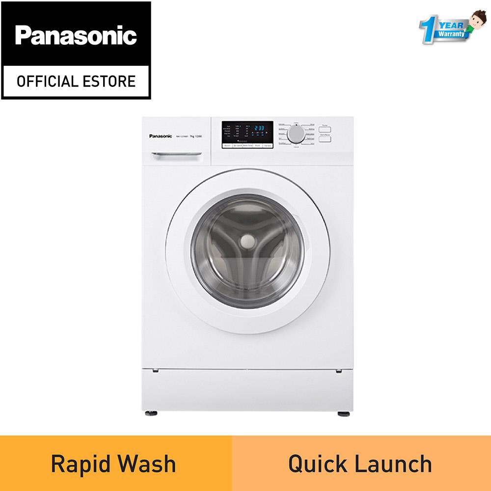 Panasonic 7KG Front Load Washer NA-127XB1