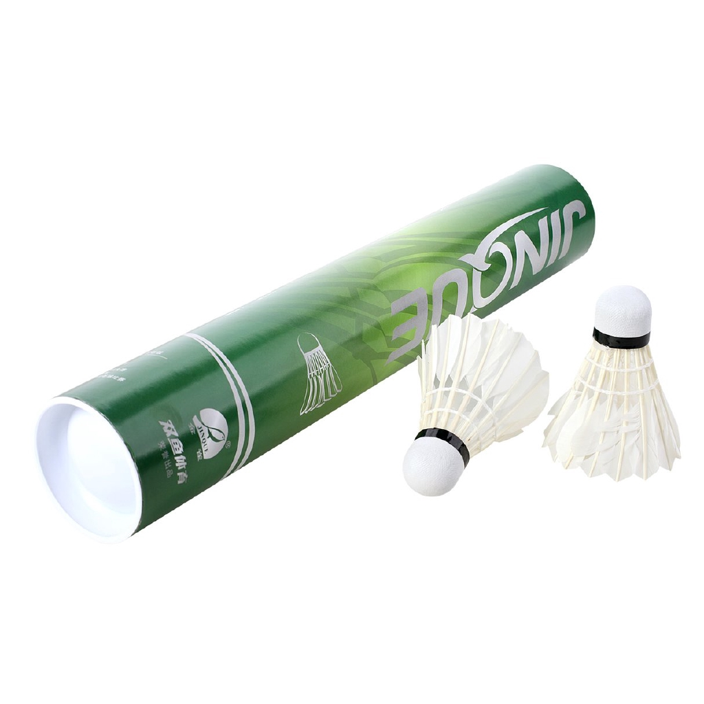 Badminton Bälle Double Fish Goose Feather Durable Badminton-v Be Friendly In Use