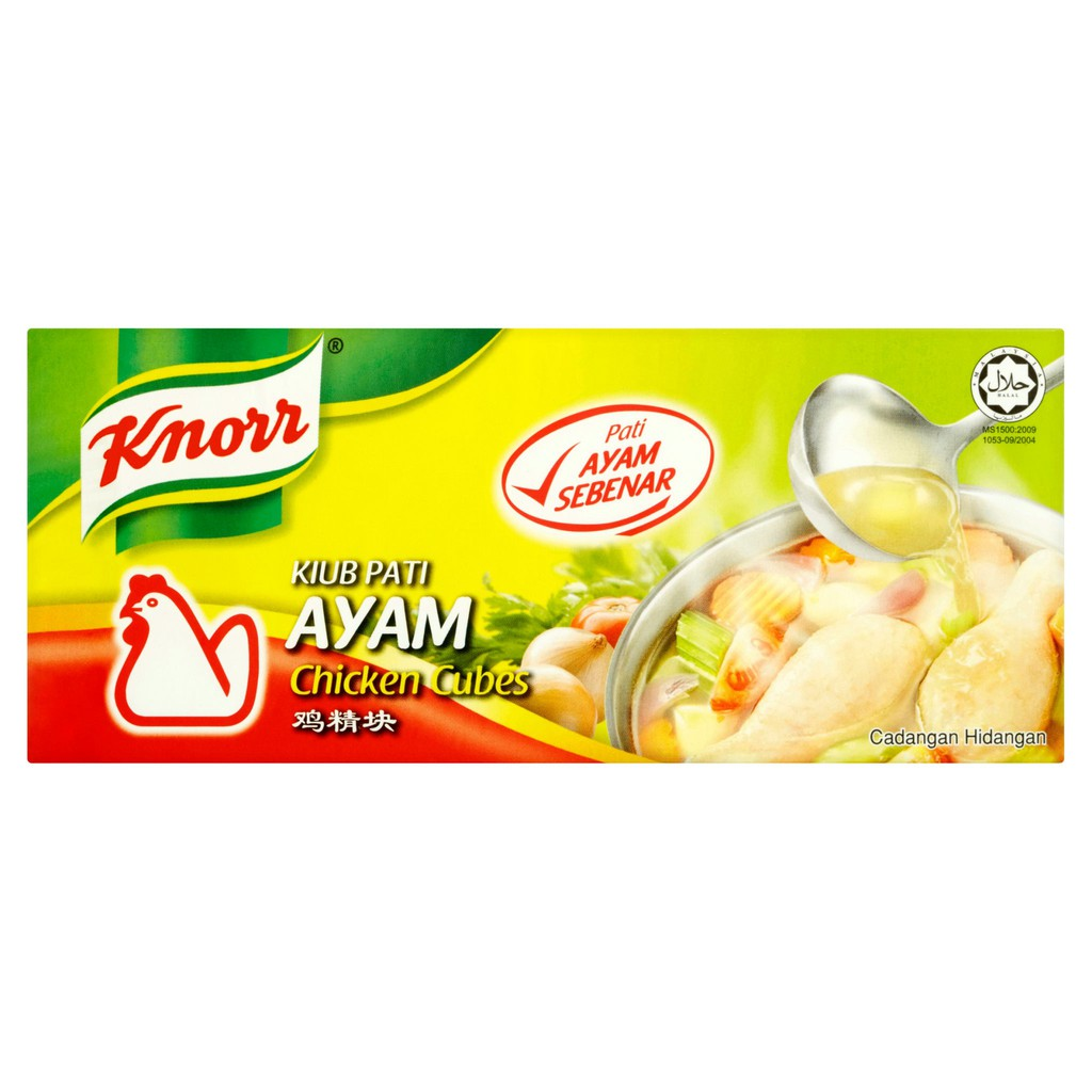 Knorr Chicken Cubes (12s x 10g)