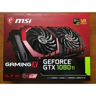 NVIDIA MSI GAMING GEFORCE GTX 1080Ti 11GB GDDR5 (Used)