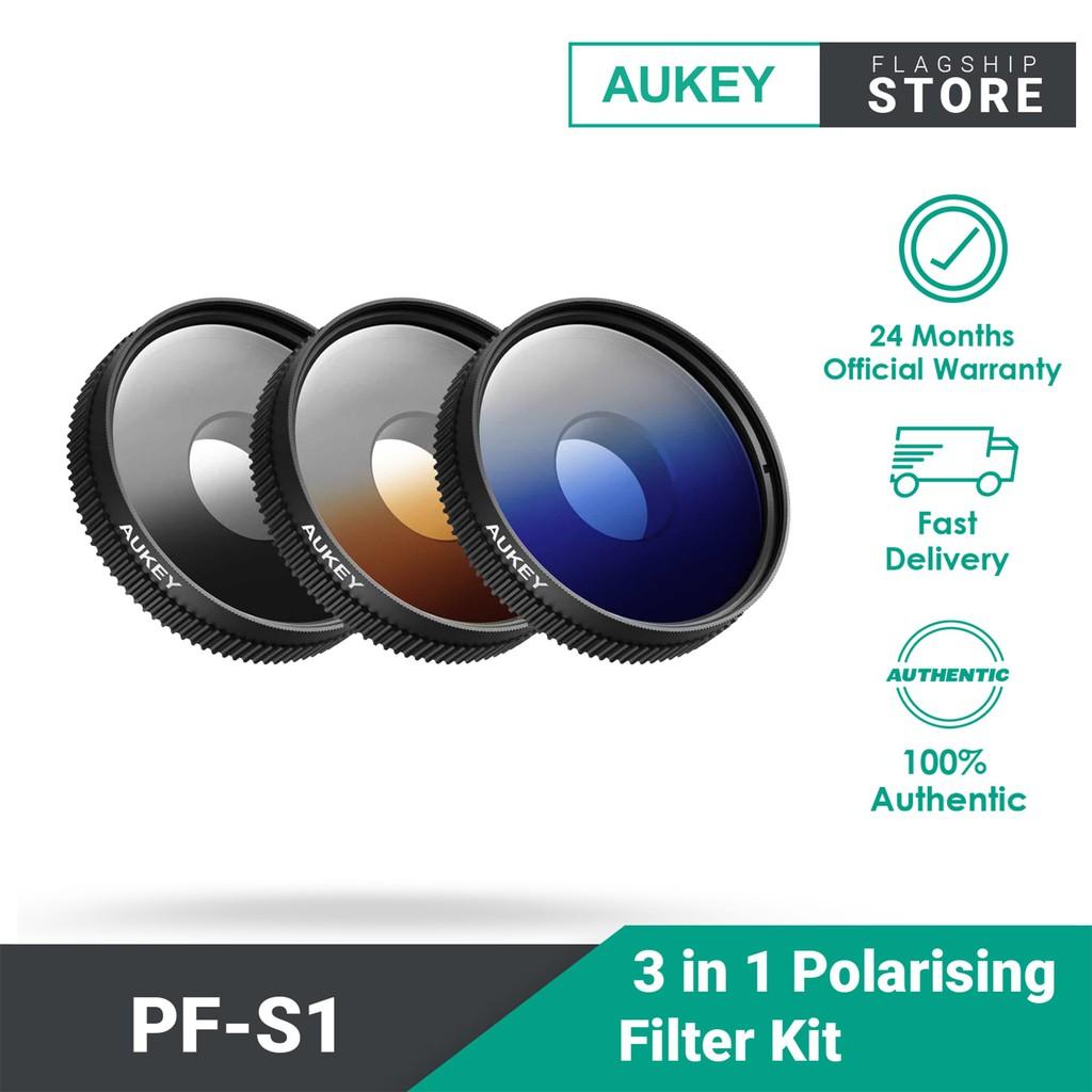 AUKEY PF-S1 3 in 1 Polarising Filter Kit