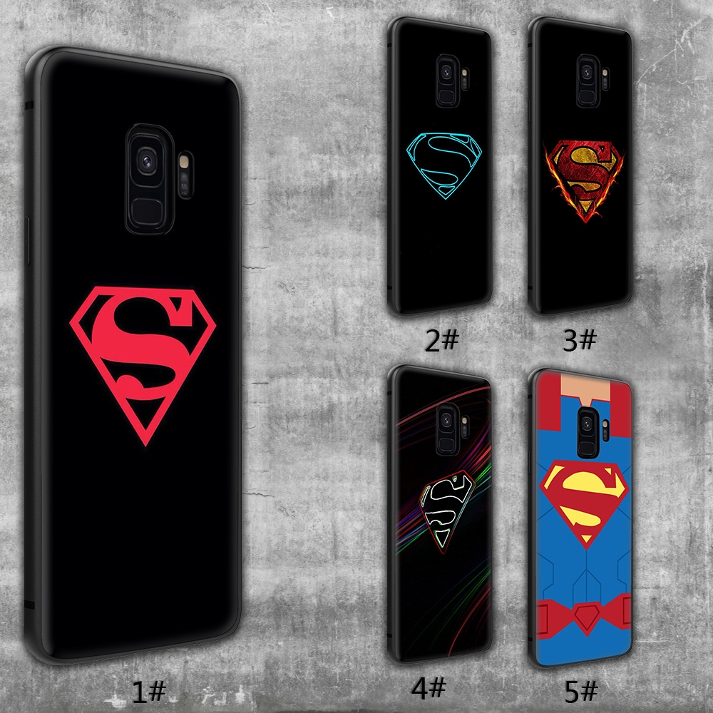 newest collection 0b6e0 79188 Superman Logo Marvel Case for Samsung Galaxy Note 8 9 A7 A6 A5