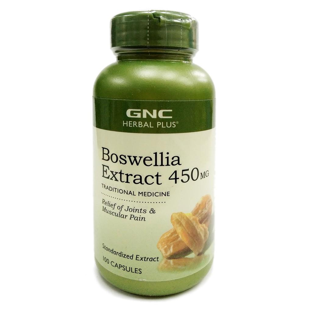 GNC Herbal Plus Standardized Boswellia (450mg x 100s)