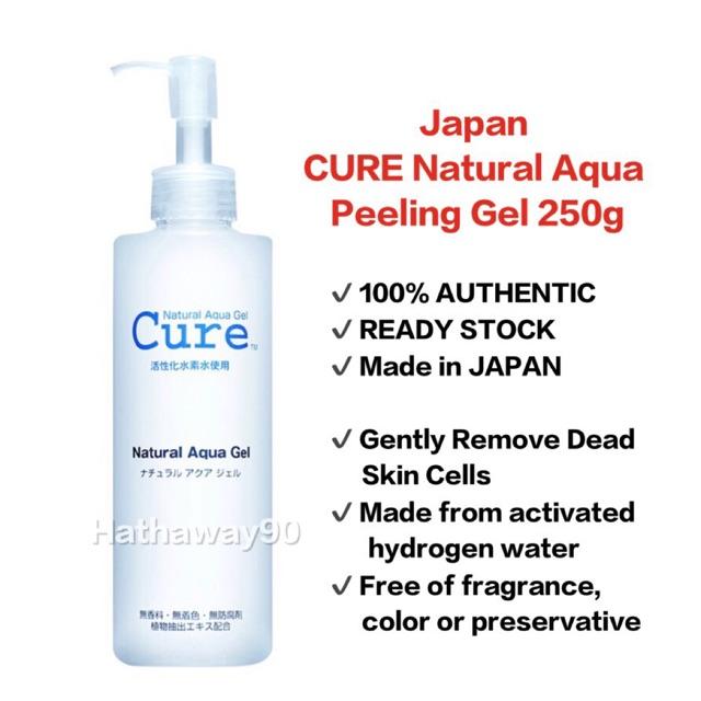 🔥100% AUTHENTIC🔥 READY STOCK Japan Cure Natural Aqua Peeling Gel Exfoliate