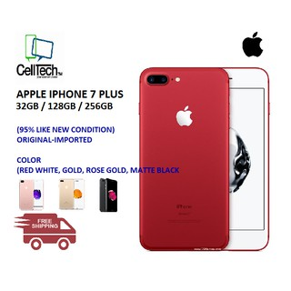 APPLE IPHONE 7 PLUS 32/128/256GB (95% LIKE NEW) (2ND)