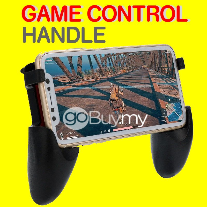 Gamepad Retractable Handle Adjustable Game Controller Grip Extended Handle