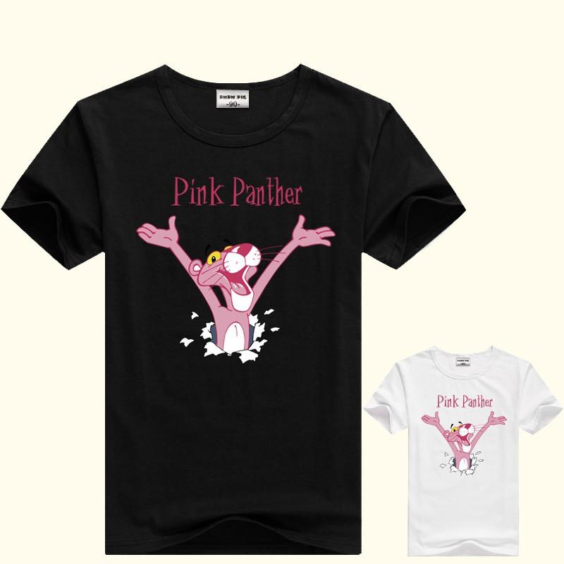 PINK PANTHER KIDS WHITE T SHIRT AGE 2-10