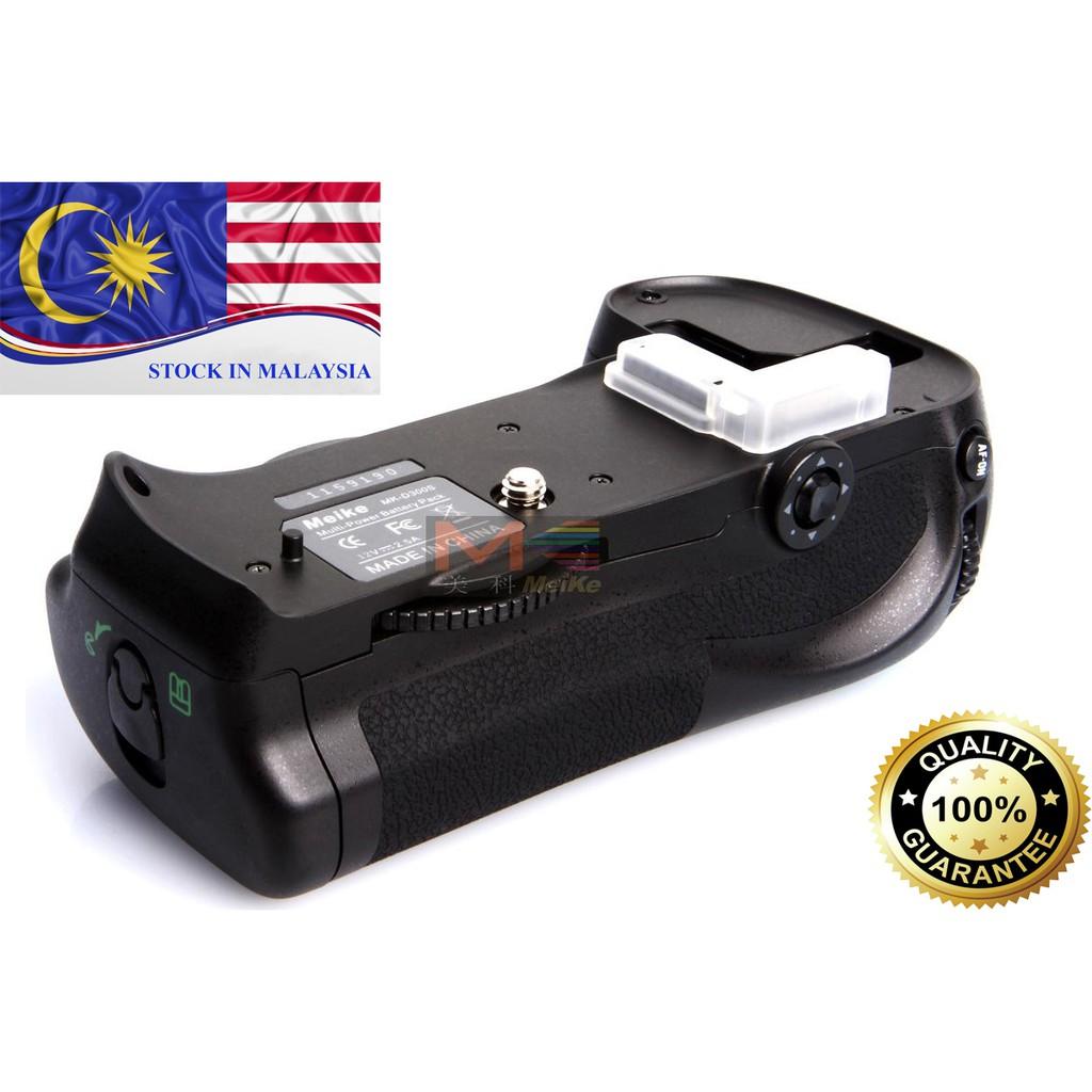 MeiKe MK-D300/MB-D10/BG-D300S Battery Grip for Nikon D700/D300/D300S (Ready Stock In Malaysia)