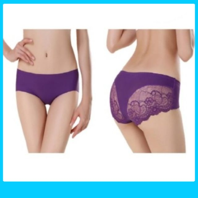 Women Sexy Lace Panties Mixed Color 6pcs set