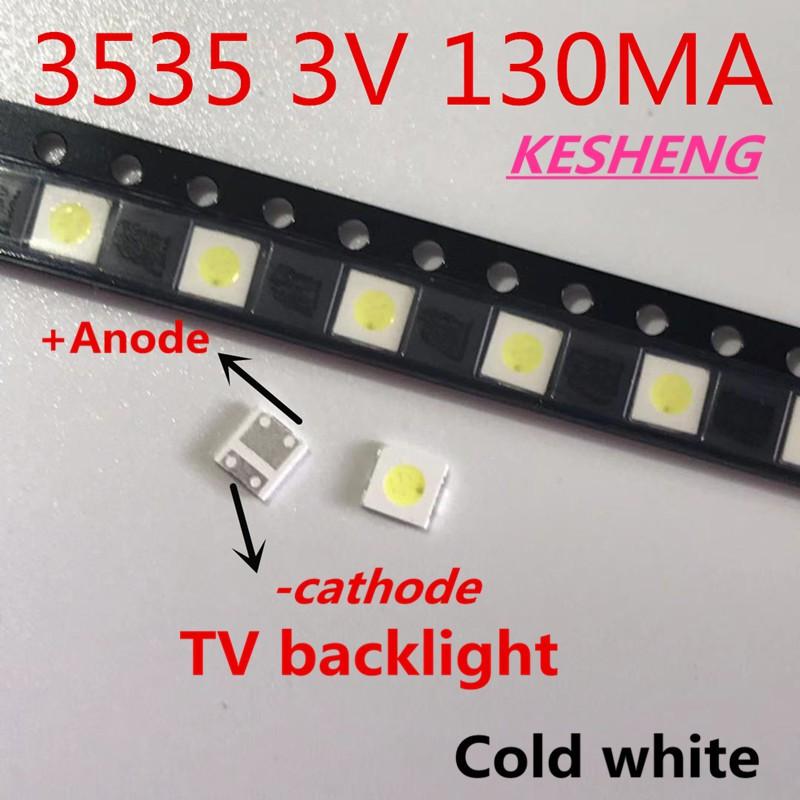 TVS High Power  1watt 3 volt  SMD LED fits most LED Led Television repair kit