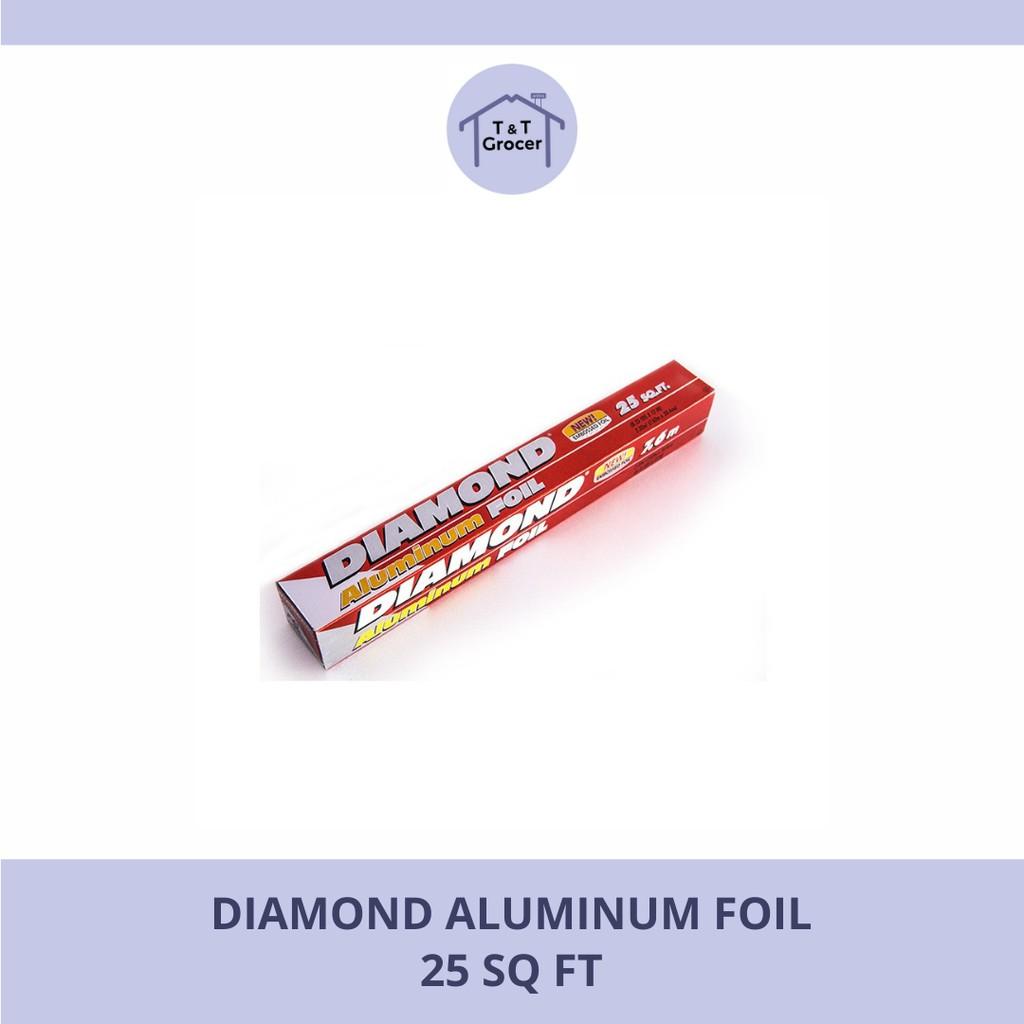 Diamond Aluminum Foil <25 Sq Ft-37.5 Sq Ft>