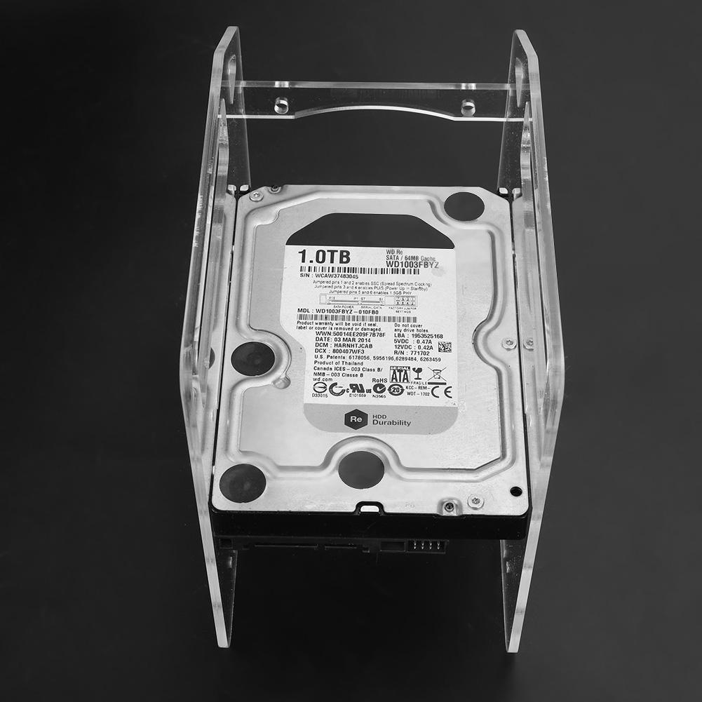 DIY 4-layer Transparent External Hard Drives HDD Hard ...