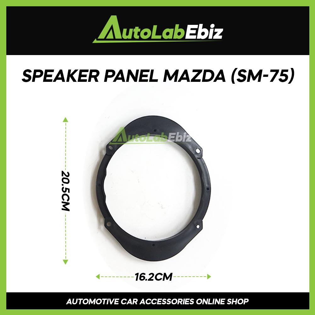 Car Door Speaker Panel Cover Trim Car (2pcs) For Mazda