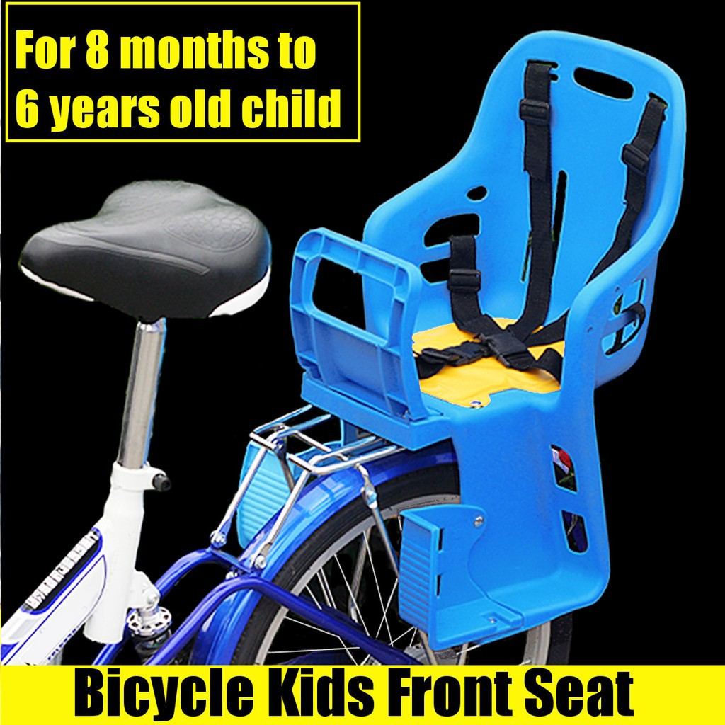 Bicycle Kids Child Back Baby Seat Bike Carrier With Handrail 25kg
