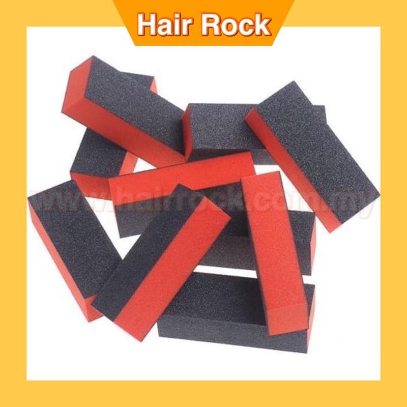 Buffing Block Nail Files Art Pedicure Manicure File(Black ORANGE)