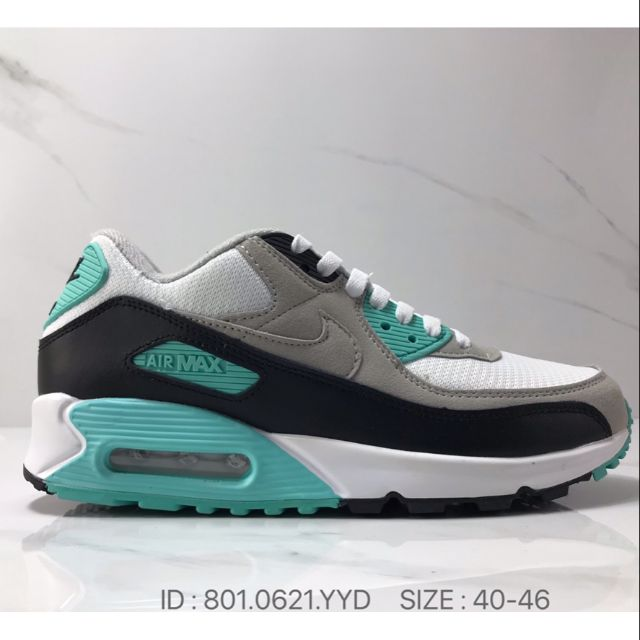 Nike Air Max 90 Athletic Shoes Sports Shoes Premium - Turquoise /40-46 EURO