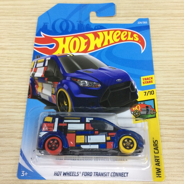 Hot Wheels Ford Transit Connect Hw Art Cars Shopee Malaysia