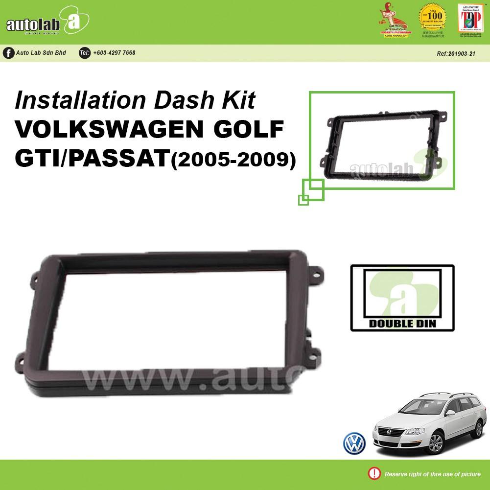 Player Casing Double Din Volkswagen Golf Gti / Passat 2005-2009