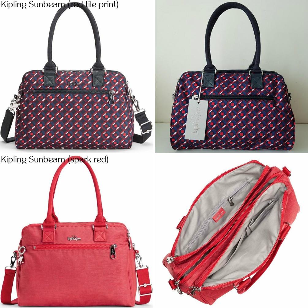 NWT Authentic Kipling Sunbeam Handbag Shoulder Crossbody Sling Work Travel  Bag  a0839bdd8b