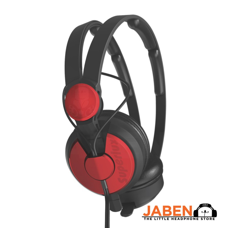 Superlux HD562 Lightweight Comfortable Noise Isolating On-Ear Headphones [Jaben] HD25