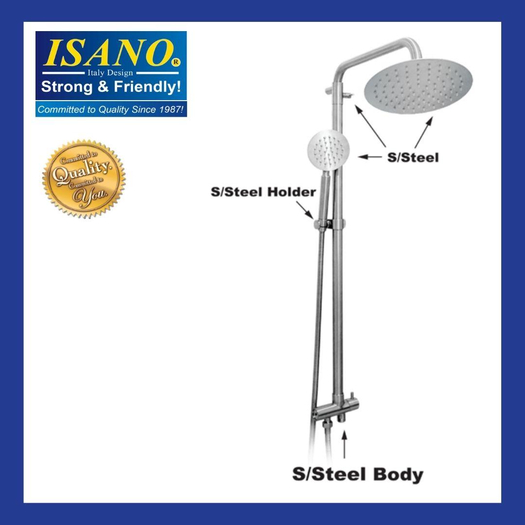 ISANO Stainless Steel Exposed Shower Set 1903ES / 1903 ES