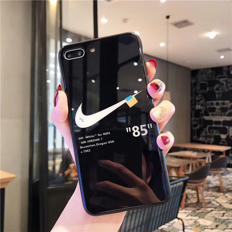 OPPO A3 A5 A7 A9 Casing Fashion Tempered Glass Case Hard Shell
