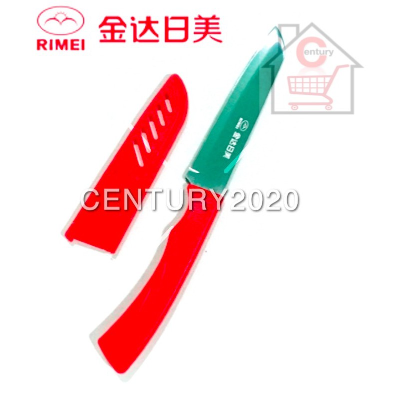 RIMEI Fruit Knife Kitchen Portable Fruit Knife With Cover Kitchen Tools 5123