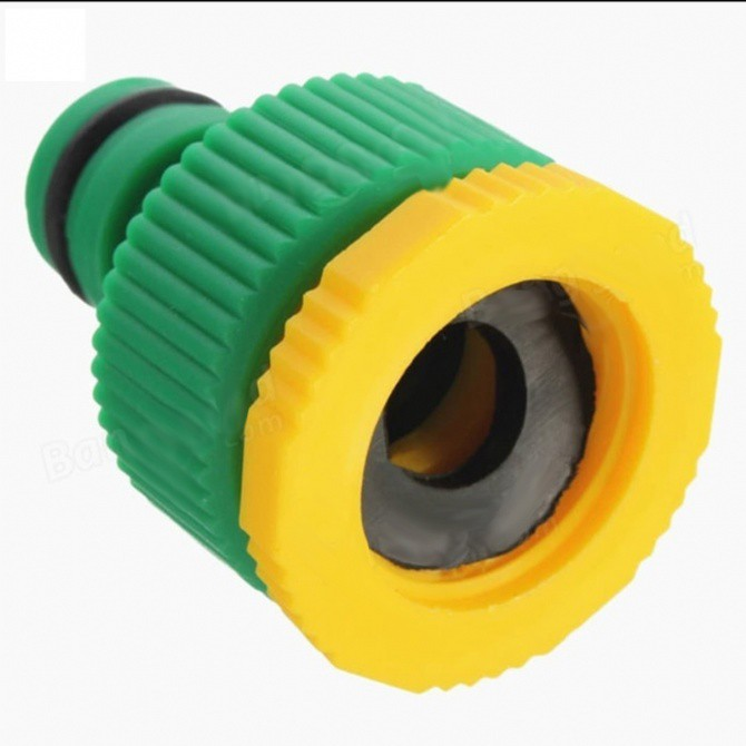 1/2 Inch 3/4 Inch Garden Tap Quick Connector Water Hose Quick Connector Pipe Fitting Garden Hose Connector Faucet Connec