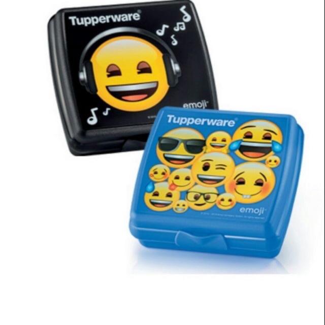 Tupperware Emoji Sandwich Keeper (2pcs)