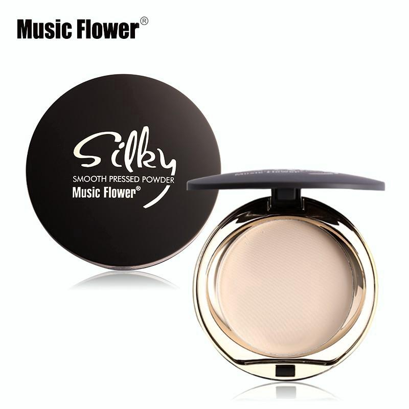 7d64eac35 Music Flower Skin Finish Setting Pressed Powder Face Makeup Palette  Oil-control | Shopee Malaysia