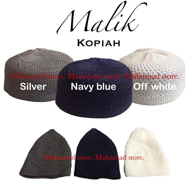 Malik Kopiah Kait Plain Muhamad store