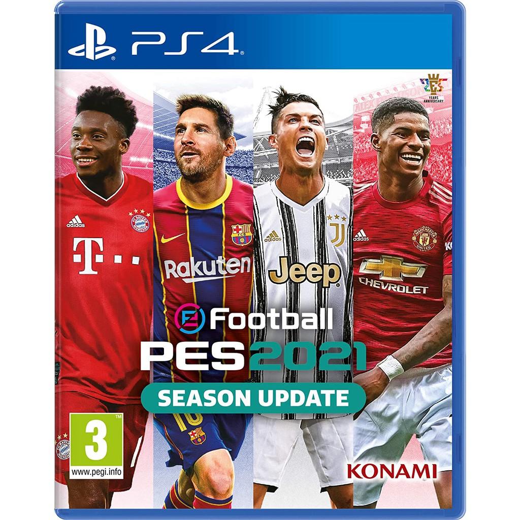 PS4 eFootball PES 2021 Season Update (R3)