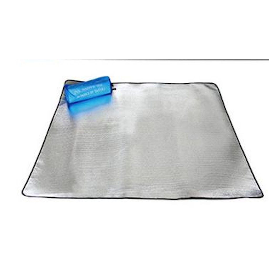 Thick double-sided aluminum proof pad outdoor portable mats