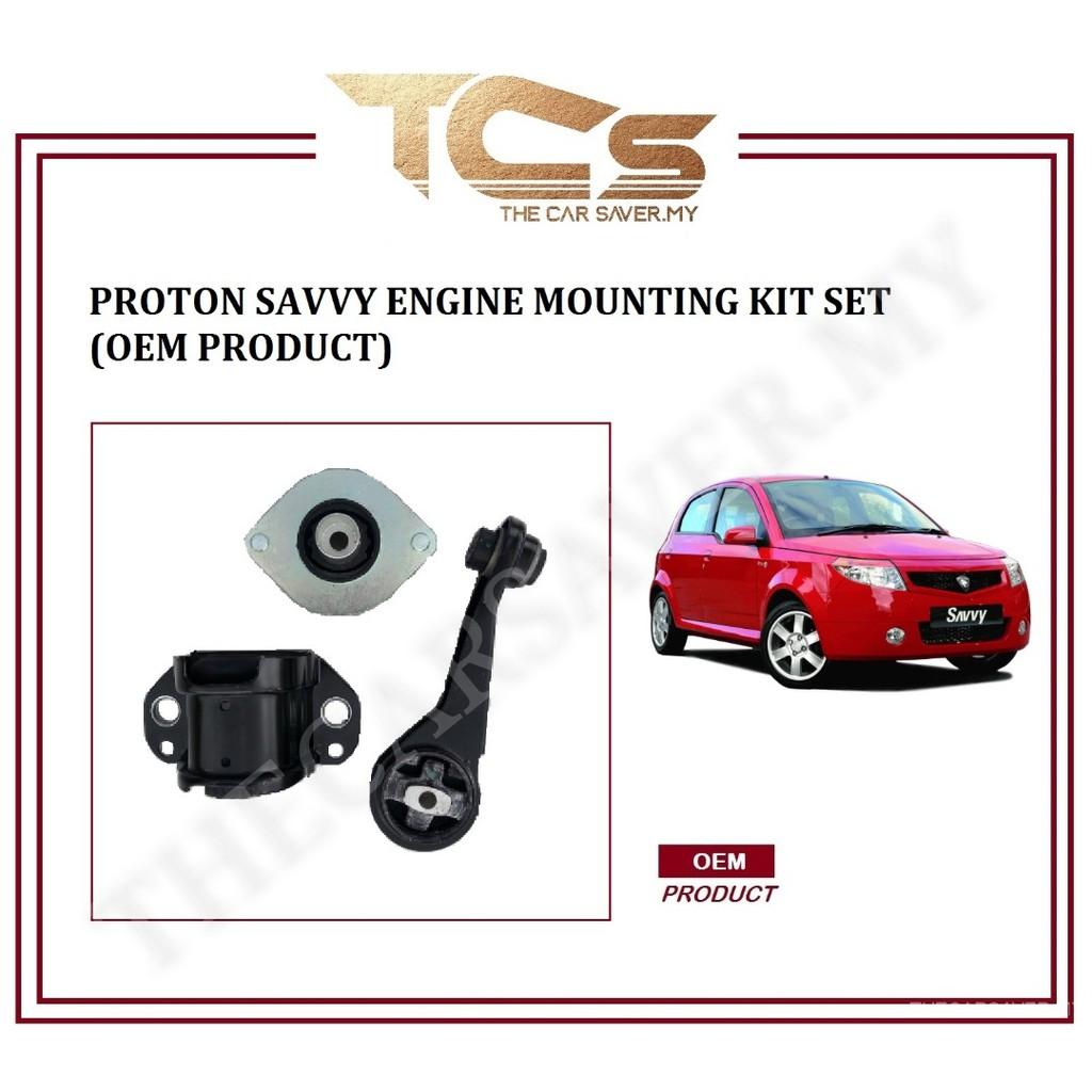 Proton Savvy Engine Mounting Kit Set (OEM Product)
