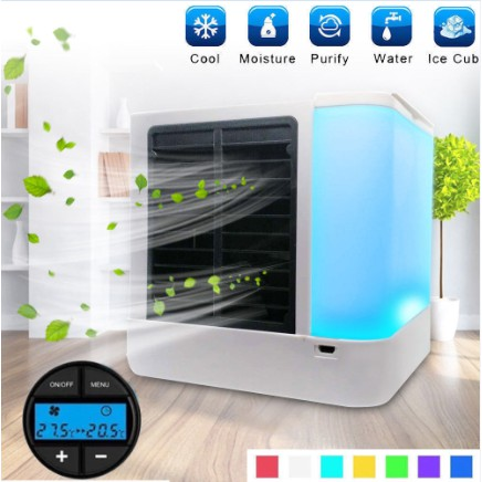 New Second generation USB mini Air Cooler Conditioner Fan Quick&Easy Way to  Cool