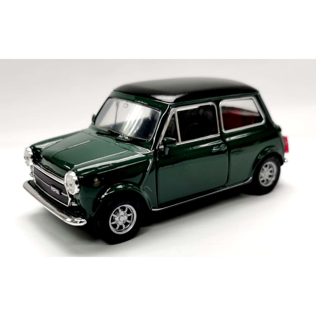 WELLY 1:34 - 1:39 (4 INC) METAL DIE CAST MINI COOPER 1300 MODEL COLLECTION 43609CW